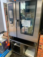 New Rational 10 Grid Electric Combi Oven Self-Cooking Center