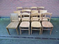 Joblot of Cafe chairs for sale