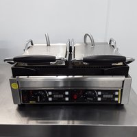 Used Buffalo L554 Double Contact Panini Grill