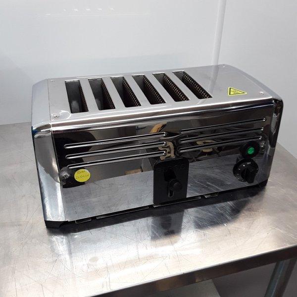 Used Burco CF415 6 Slot Toaster