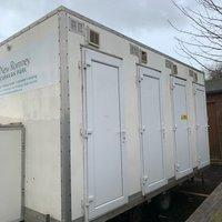 4 Person LPG Shower Units for sale