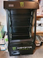 Monster Energy Chilled Display Cabinet