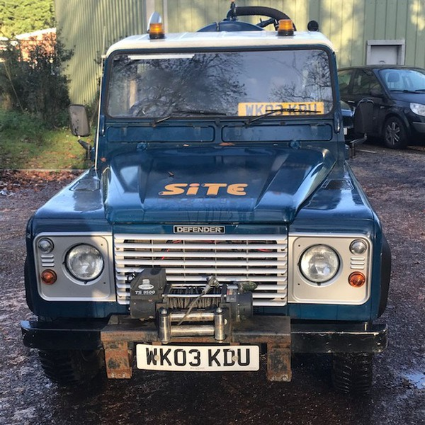 Land Rover Defender Tanker for sale