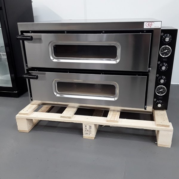 Brand New GGF Basic 44 Double Pizza Oven