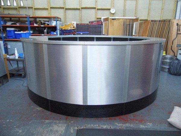 Silver Circular Bar