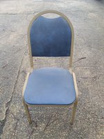 Metal Stacking Conference Chairs