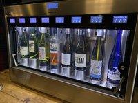 Enomatic wine server preserver tasting unit