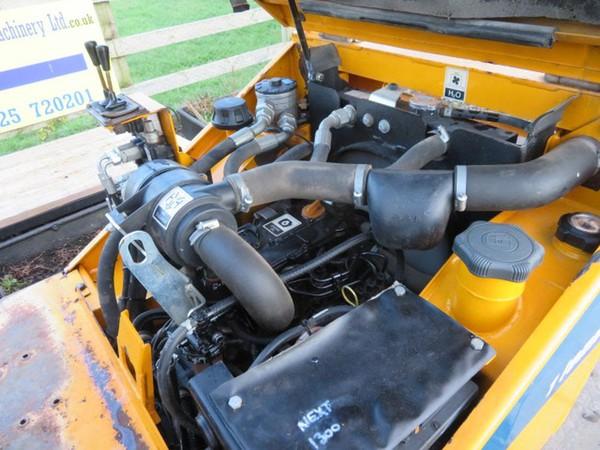 Diesel engine dumper truck