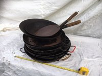 Frying Pans And Paella Pans