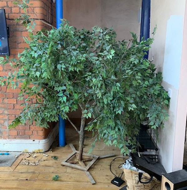 3x Artificial Trees prop manchester