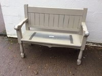 Shabby Chic Bench Settle For Sale
