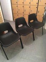 Second Hand Stacking Interlocking Chairs