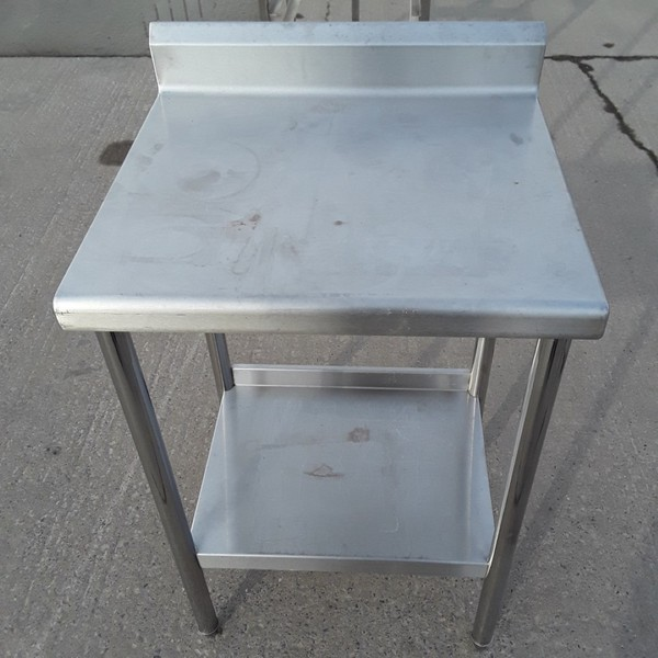 Used Stainless Steel Table (10557)