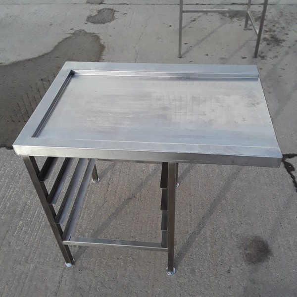 Used Stainless Steel Dishwasher Table (10556)