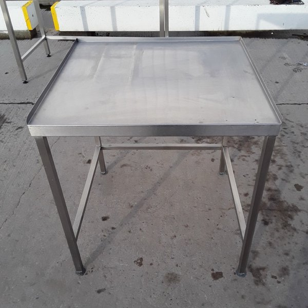 Used Stainless Steel Table (10555)