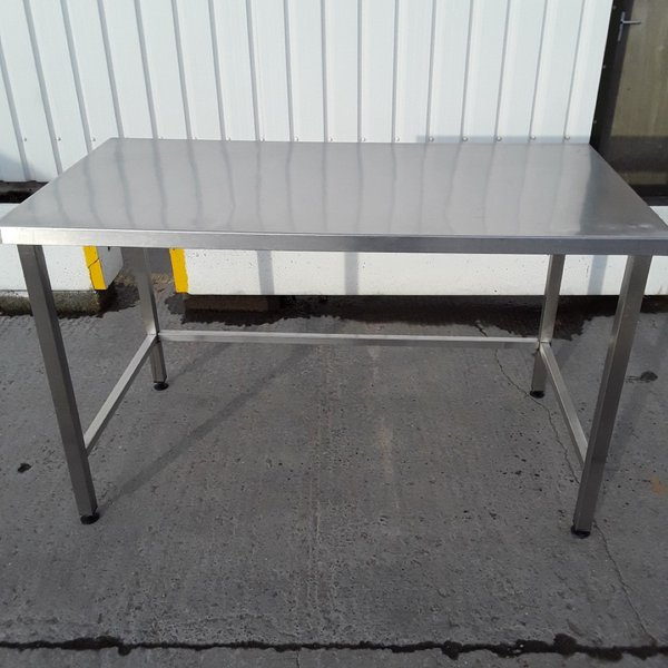 Used   Stainless Steel Table	(10554)
