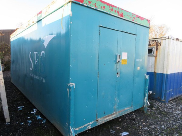 23' x 9' Anti Vandal Steel Store Site Security Shipping Container - Darlington, Co Durham