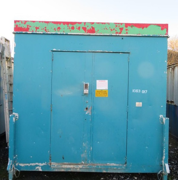 23' x 9' Anti Vandal Steel Store Site Security Shipping Container