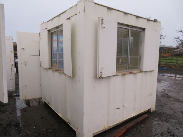 8ft x 8ft Security cabin for sale
