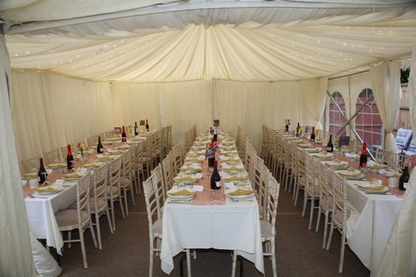 6m x 12m Marquee With Linings - Hertfordshire