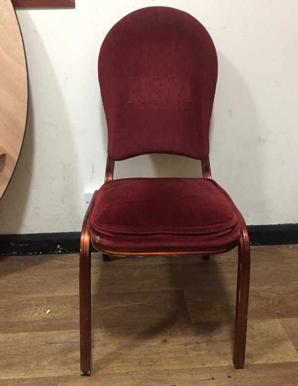 Deep Red Chairs for sale