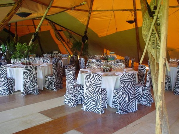 Leopard Print Stretch Chair Covers