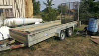 Extra Large Plant Trailer With Loading Ramp