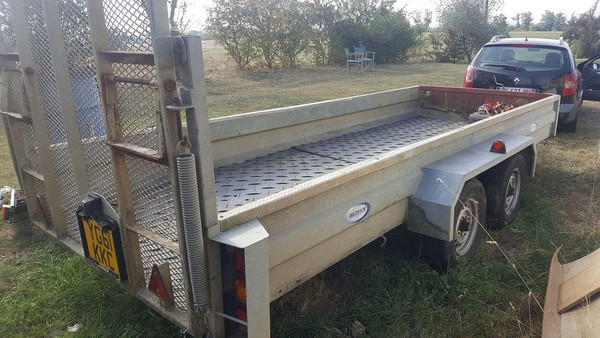 Extra Large Plant Trailer For Sale