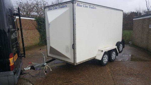 Large 4 Wheeled Box Trailer