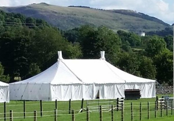 30Ft x 50Ft Traditional marquee for sale