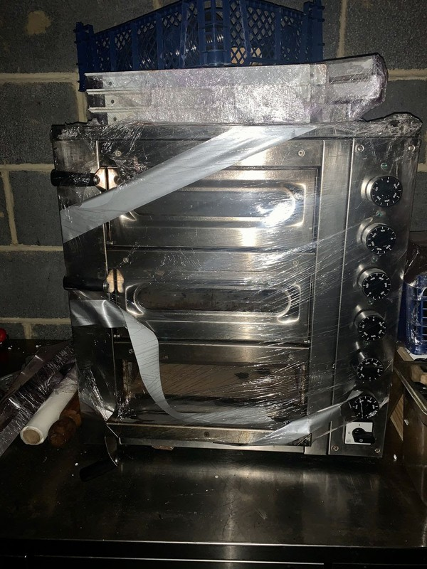 Triple Electric Oven For Sale