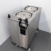 Used Double Lowerator Plate Warmer