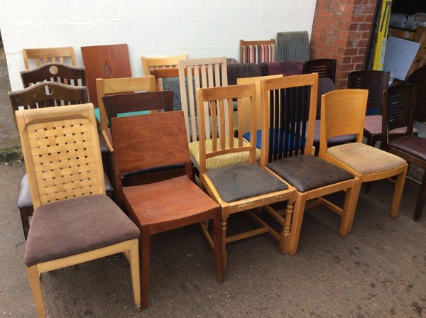 Mixed Style Restaurant Dining Chairs