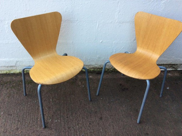 Stacking Butterfly Chairs For Sale