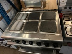 Lincat 6 Burner Electric Cooker