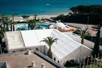 Marquee Tent L-Shaped Design 15m