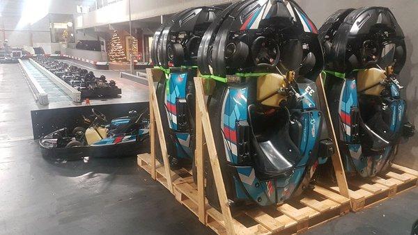 Sodikart SR4 Kart fleet for sale