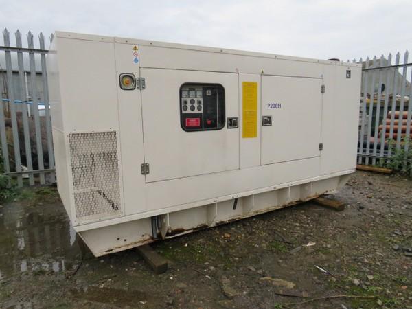 2006 200Kva diesel generator