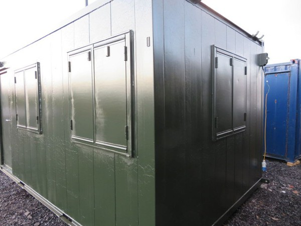 Secure cabin / site office