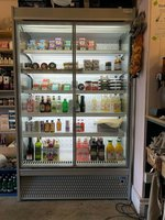 ISA Italian Made Double Door Display Fridge