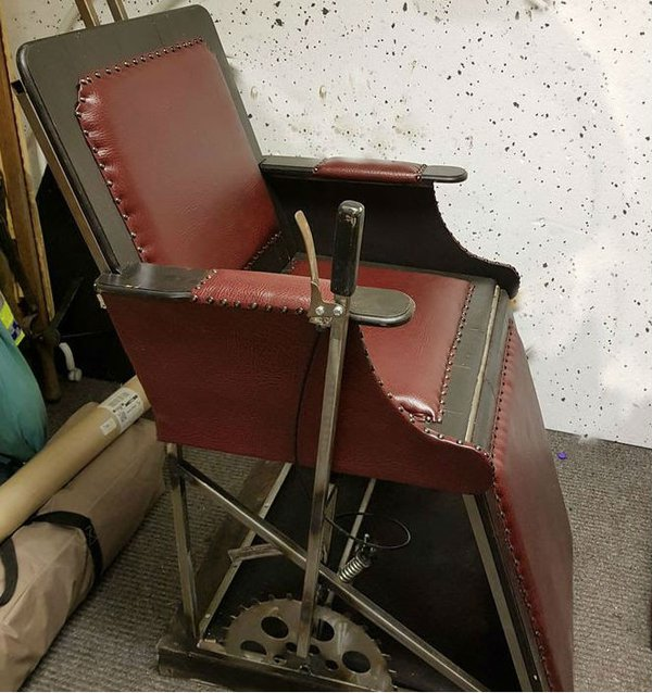 Sweeney Todd Barbers chair prop for sale