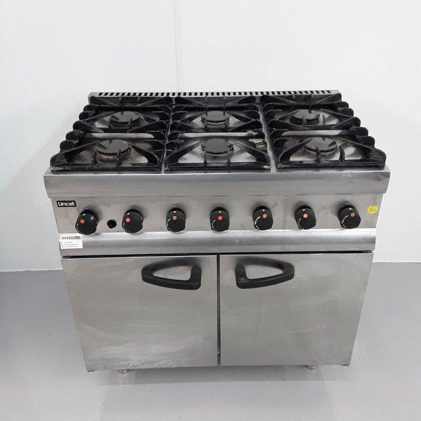 Six burner gas range cooker for sale