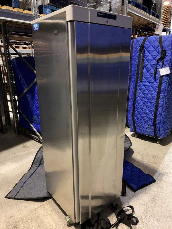 Stainless steel fridge tall