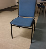 Blue cushioned Chairs for sale Wolverhampton