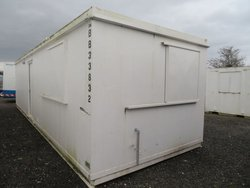32' x 10' Anti Vandal Office Container Portable Building Open Plan With Kitchen