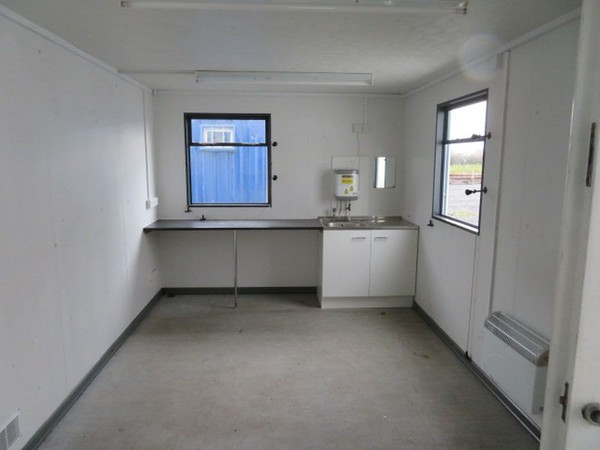 Anti Vandal Container Cabin With Kitchen