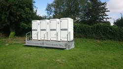 3 + 1 Economy Toilet Trailer For Sale