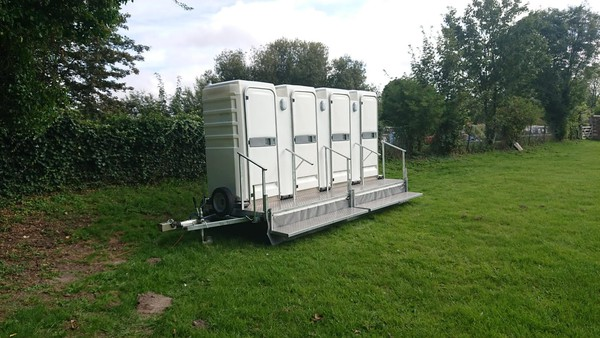 buy 3 + 1 Economy Toilet Trailer