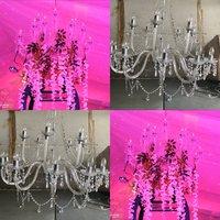 18 arm Acrylic Crystal Chandelier