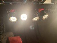 Pin spot lights